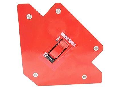 Soporte magnético para soldadura con interruptor de soldadura WH044 de 30 lb