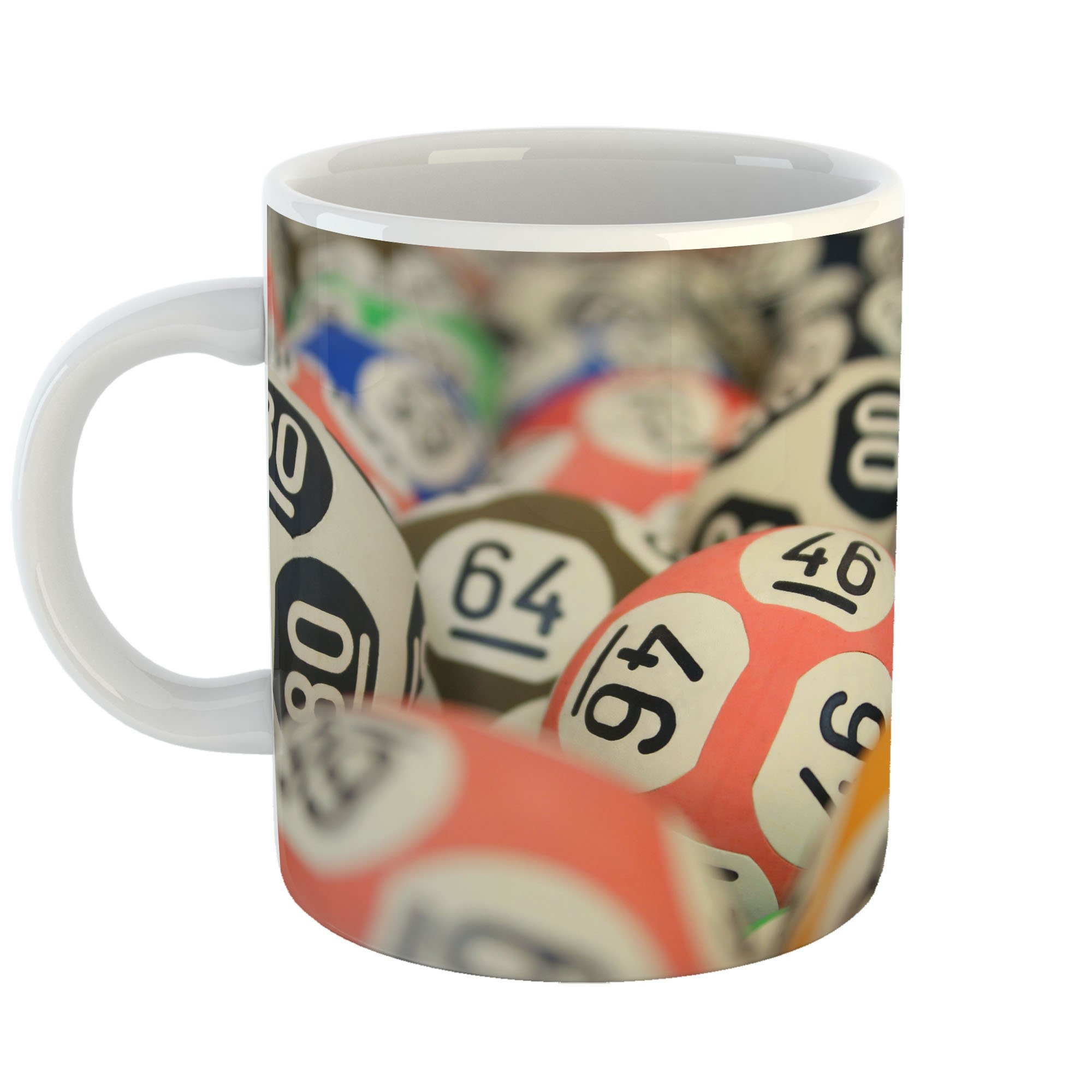 Westlake Art - Ball Bingo - 11oz Coffee Cup Mug - Modern Picture Photography Artwork Home Office Birthday Gift - 11 Ounce (DB85-8B7E2)