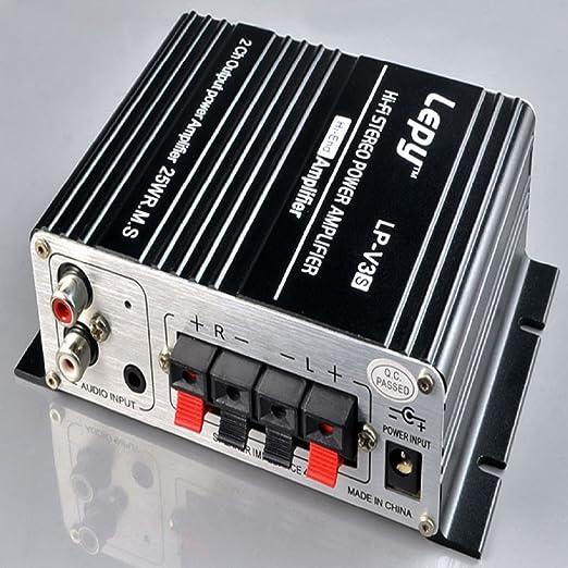 Amazon.com: AutumnFall 700W 12V Mini Hi-Fi Stereo Digital ...