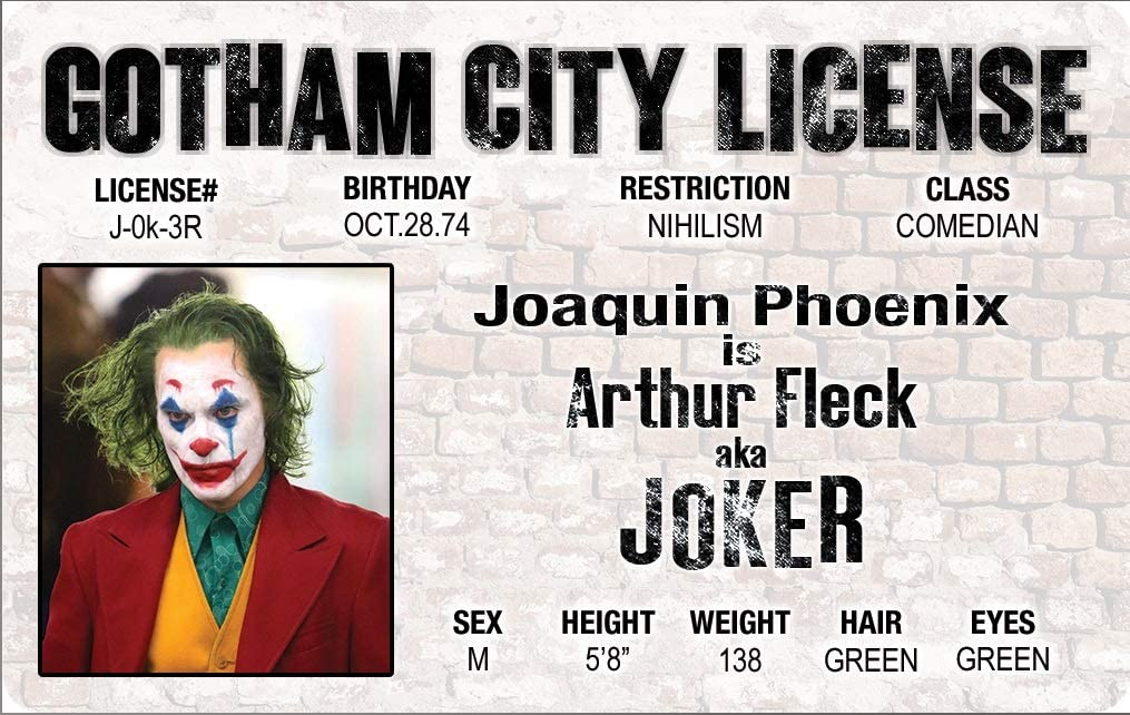 Joaquin Phoenix Joker Sticker limited edition