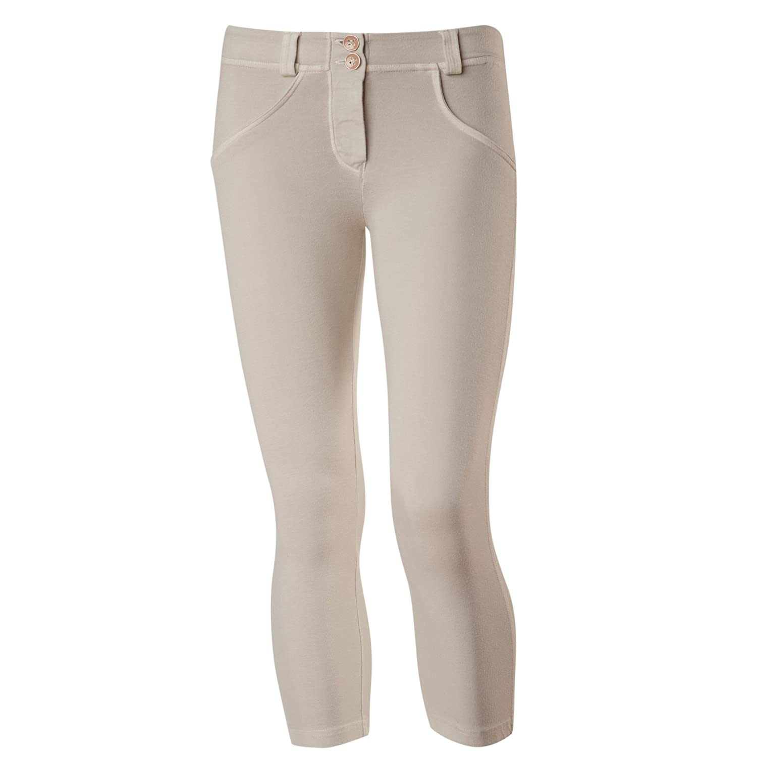 FREDDY WR.Up Shaping Effect Capri Pants WRUPSNUG8 (Beige, S)