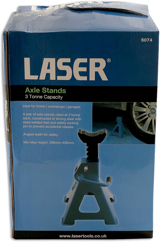 Laser 5073 hasta 2 toneladas Gato de caballete