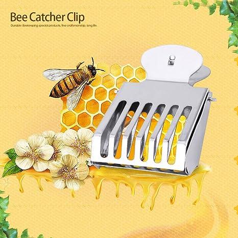 1 PC Metal Queen Bee Catcher Clip Cage Catching Tool Beekeeping Equipment Good