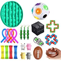 Hinder Sensorisk fidget leksaker uppsättning, bunt sensoriska leksaker set sensorisk terapi leksaker för ADHD autism…