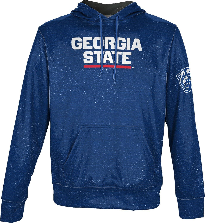 School Spirit Sweatshirt Georgia State University Mens Pullover Hoodie Heathered