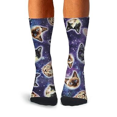 Amazon.com: Floowyerion - Calcetines deportivos para hombre ...