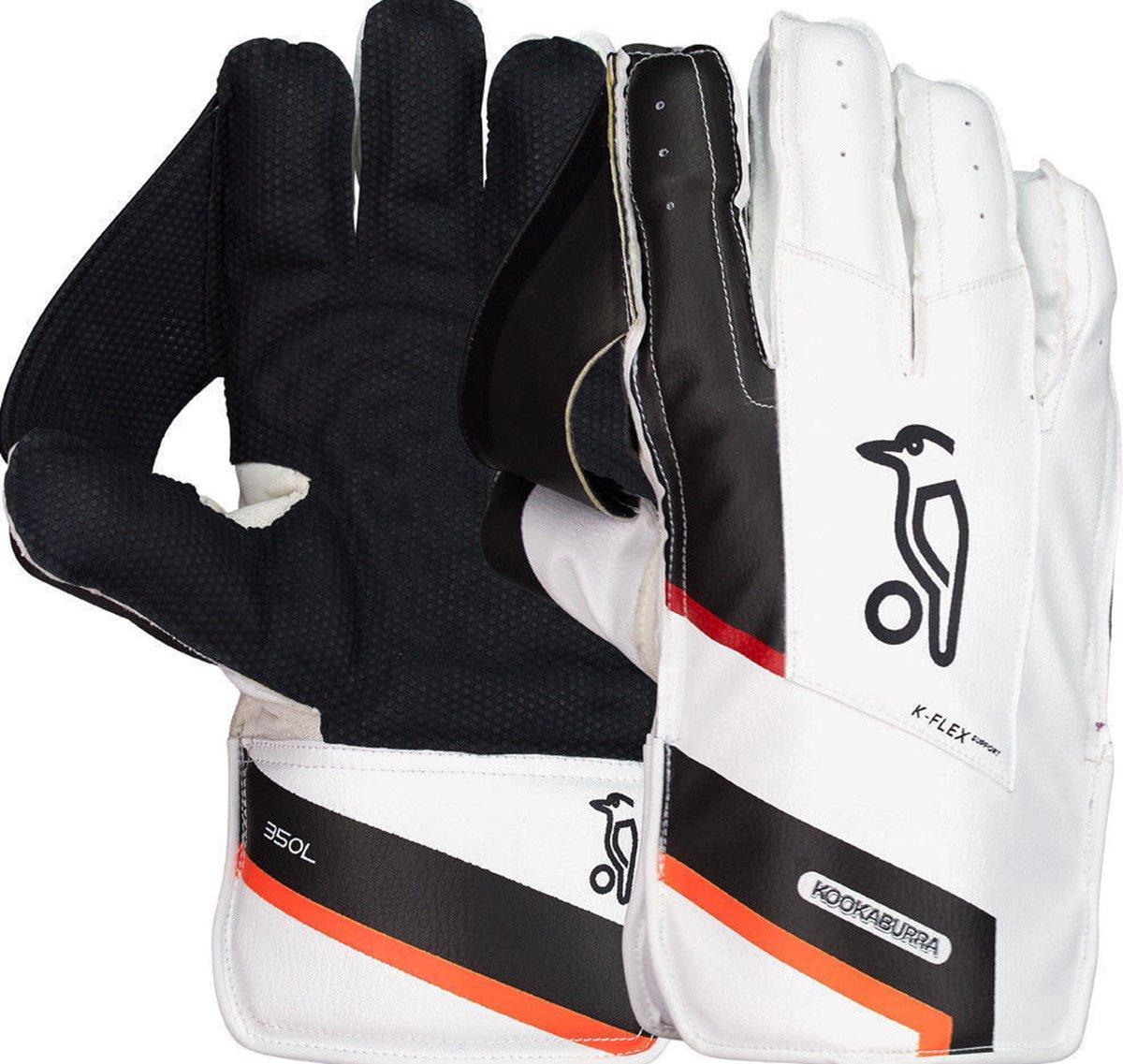 2018 Kookaburra 350L Long Cut Wicket Keeping Gloves New Only Cricket