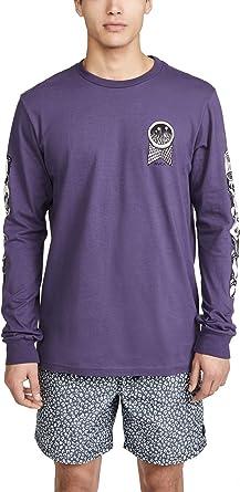 RVCA Halicon - Camiseta de manga larga para hombre - Morado - Small: Amazon.es: Ropa y accesorios