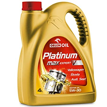 4l PLATINUM MaxExpert V 5W-30 de ORLEN OIL con liberación de Volkswagen de VW 504 ...