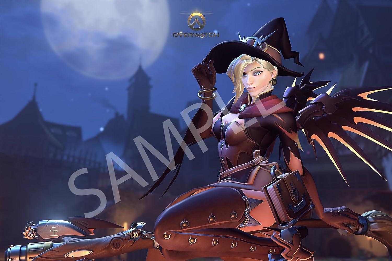 Overwatch Mercy Poster 11x17