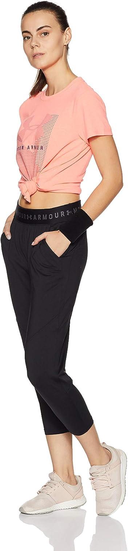 Under Armour HeatGear Armour Sport Crop Trainingshose Damen Hose