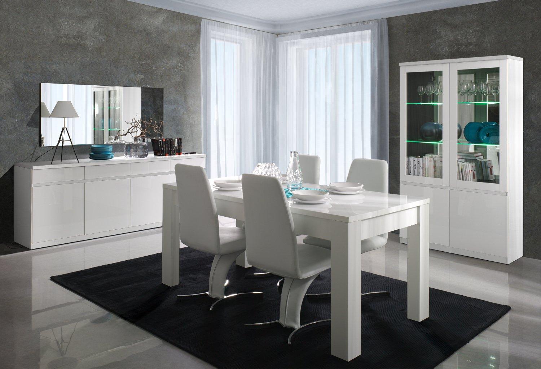 Movian Vernis blanc brillant Couleur Meuble TV Atran