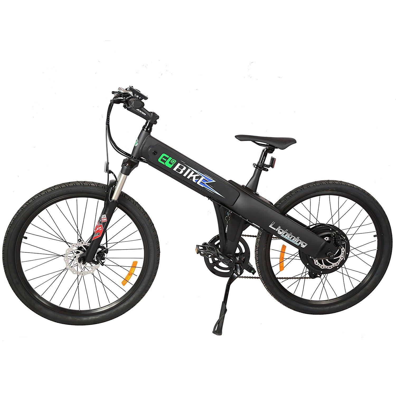 New Electric Bike Matt Black Electric Bicycle Mountain 500W