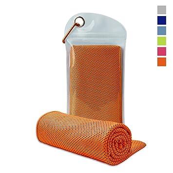 Amazon.com: tebuy refrigeración toalla, toalla de ...