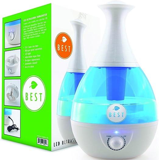 Amazon Com Best Cool Mist Humidifier Ultrasonic Steam Vaporizer