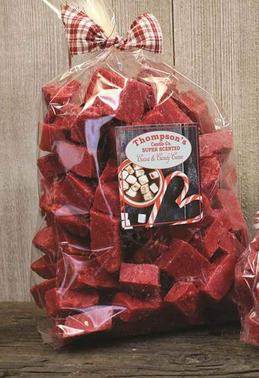 Super Scented Crumbles//Wax Melt 32 oz Cocoa /& Candy Canes Thompsons Candle Co