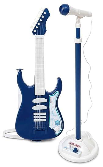Amazon.com: Bontempi – Guitarra eléctrica con amplificador y ...