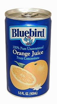 Bluebird Orange Juice