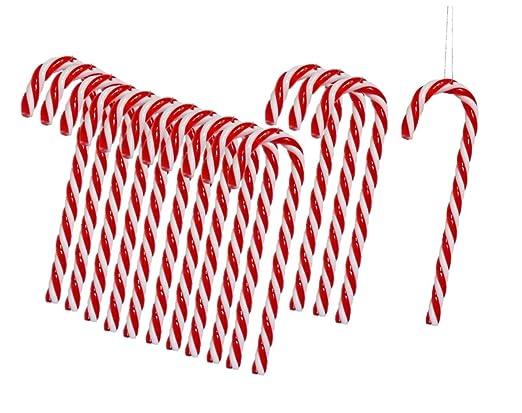 Weihnachtsbaum Hangende Zuckerstange Dancepandas 12 Stuck
