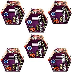 Monster High Minis Figures Halloween Season 1 (Pack of 6)