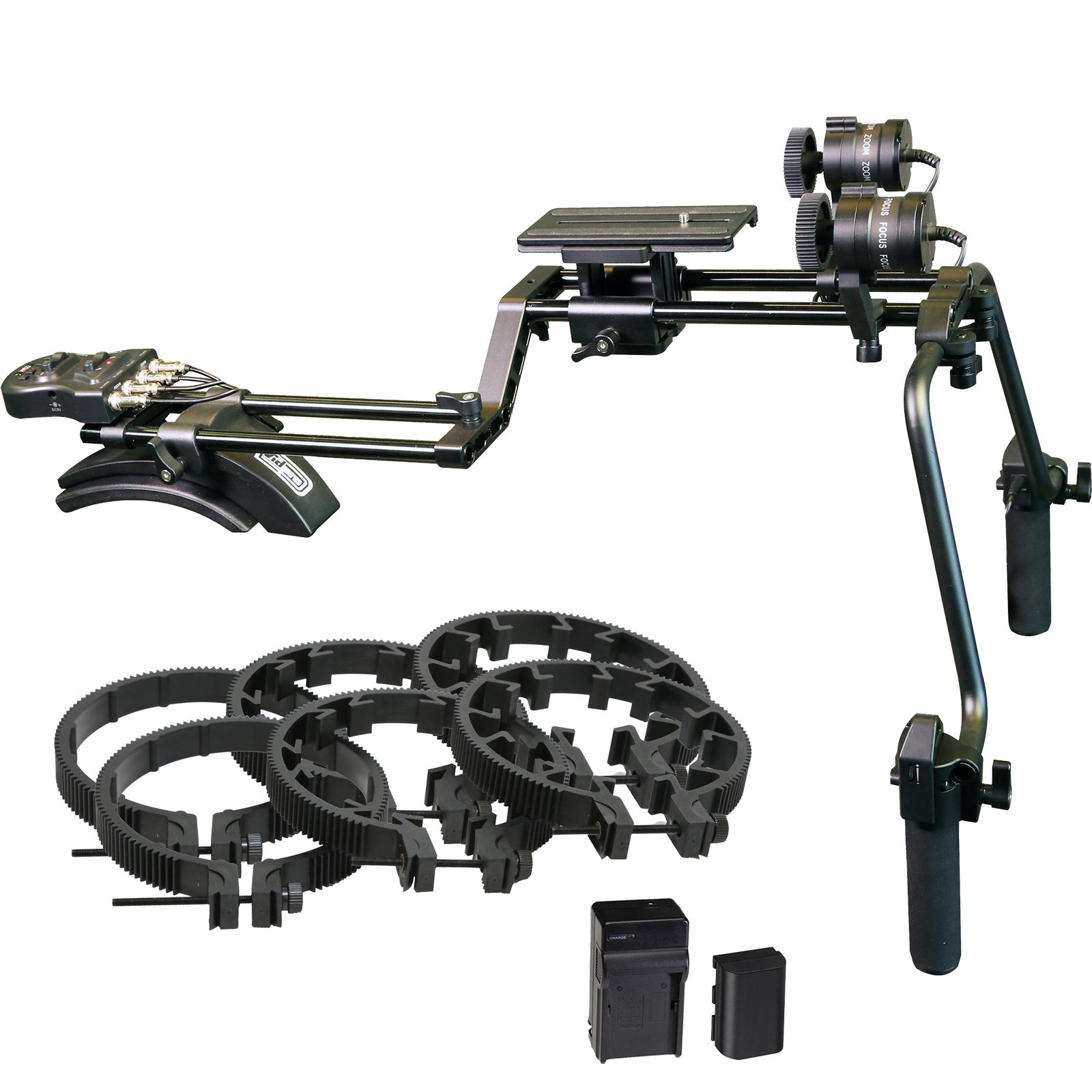 Vidpro MR-500 Motorized Focus & Zoom Shoulder Rig for Digital SLR Cameras by VidPro