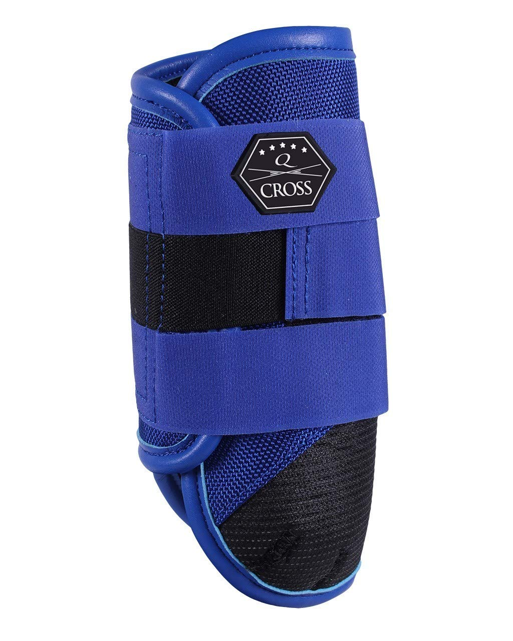 QHP Front Leg Technical Event Boots Medium Royal bluee