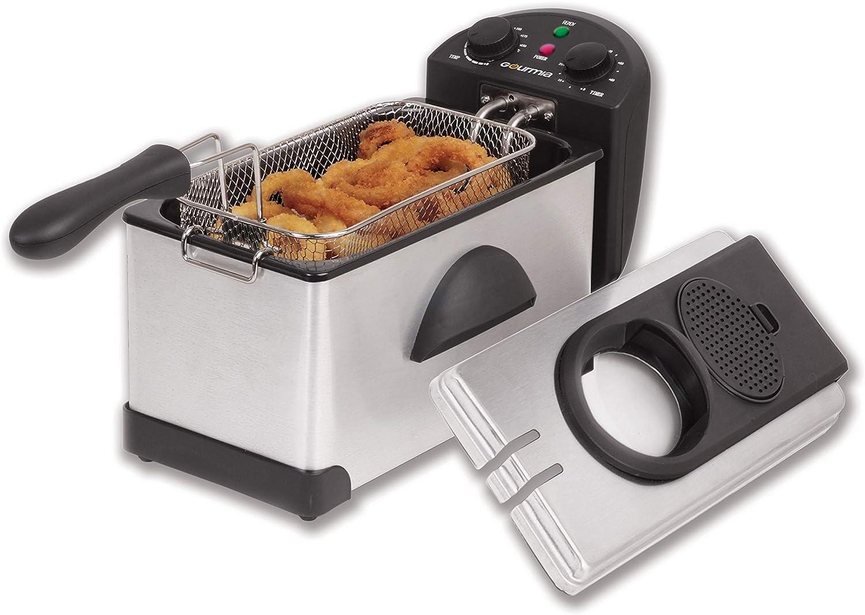 Gourmia GDF300 Compact Electric Restaurant Deep Fryer