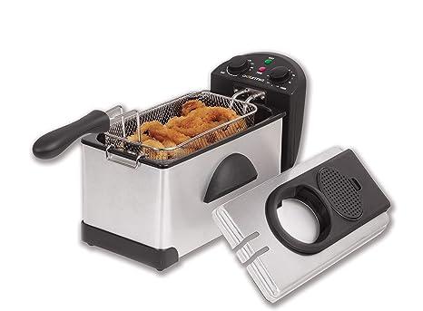 Amazon.com: Gourmia Freidora eléctrica compacta ...