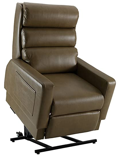 Amazon.com: Cozzia MC520 Mobility Lift Recliner - Saddle (curbside ...