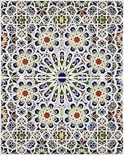 Marwa Marokkanische Fliesen Aus Keramik Bunt Kunst Design - Orientalische fliesen wien