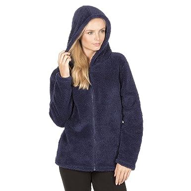 76ee298c7c Forever Dreaming Ladies Bed Jacket Coatigan Bed Coat Shawl   Hooded Snuggle  Top  Amazon.co.uk  Clothing