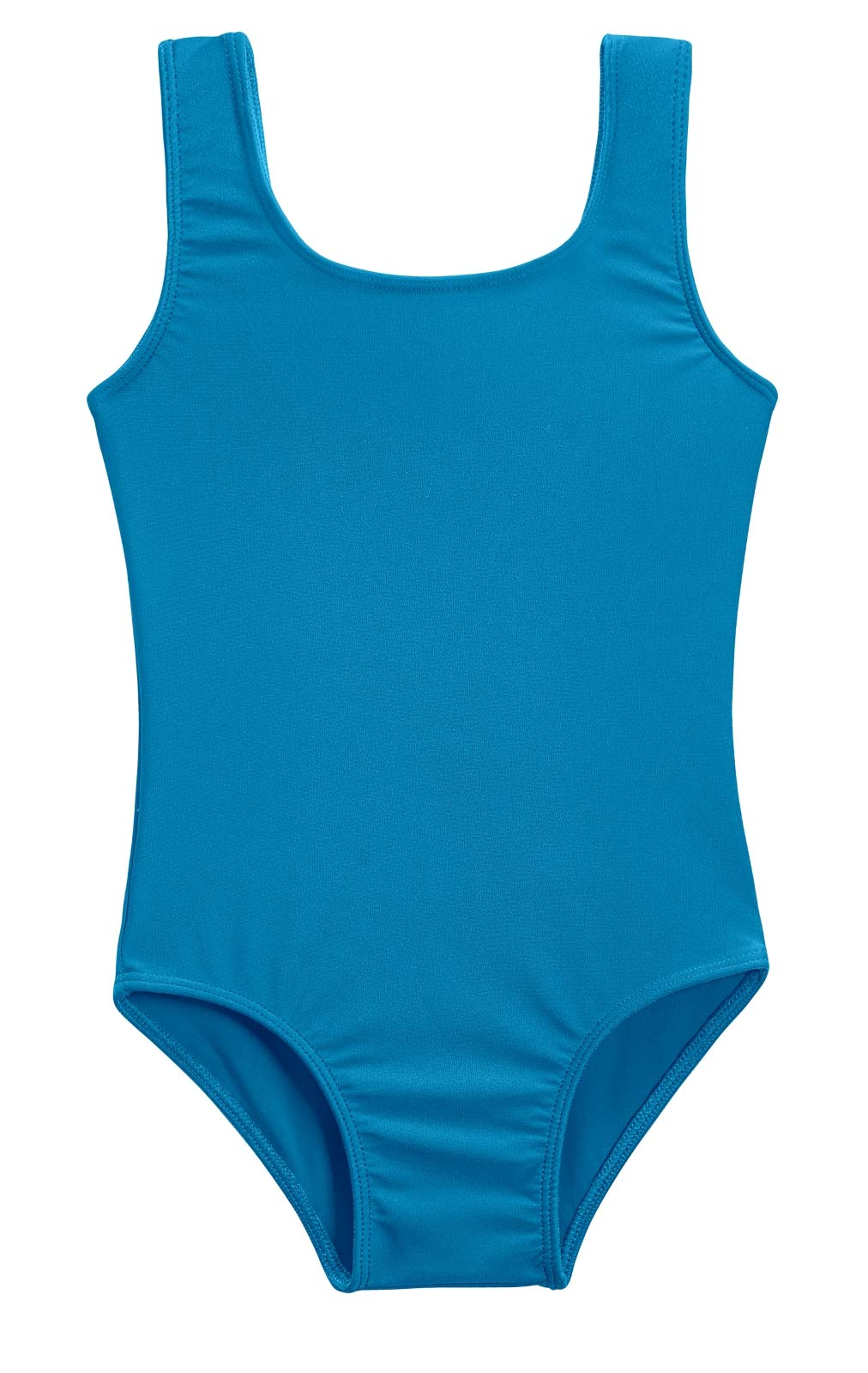 City Threads Girls' One Piece Swimming Suit with Sun Protection SPF for Beach Pool or Play Swim Suit Rash Guard Bottoms Briefs, Teal, 2T