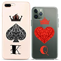 Cavka TPU Matching Couple Cases for Apple iPhone 11 Pro Xs Max X Xr 8 Plus 7 6s...