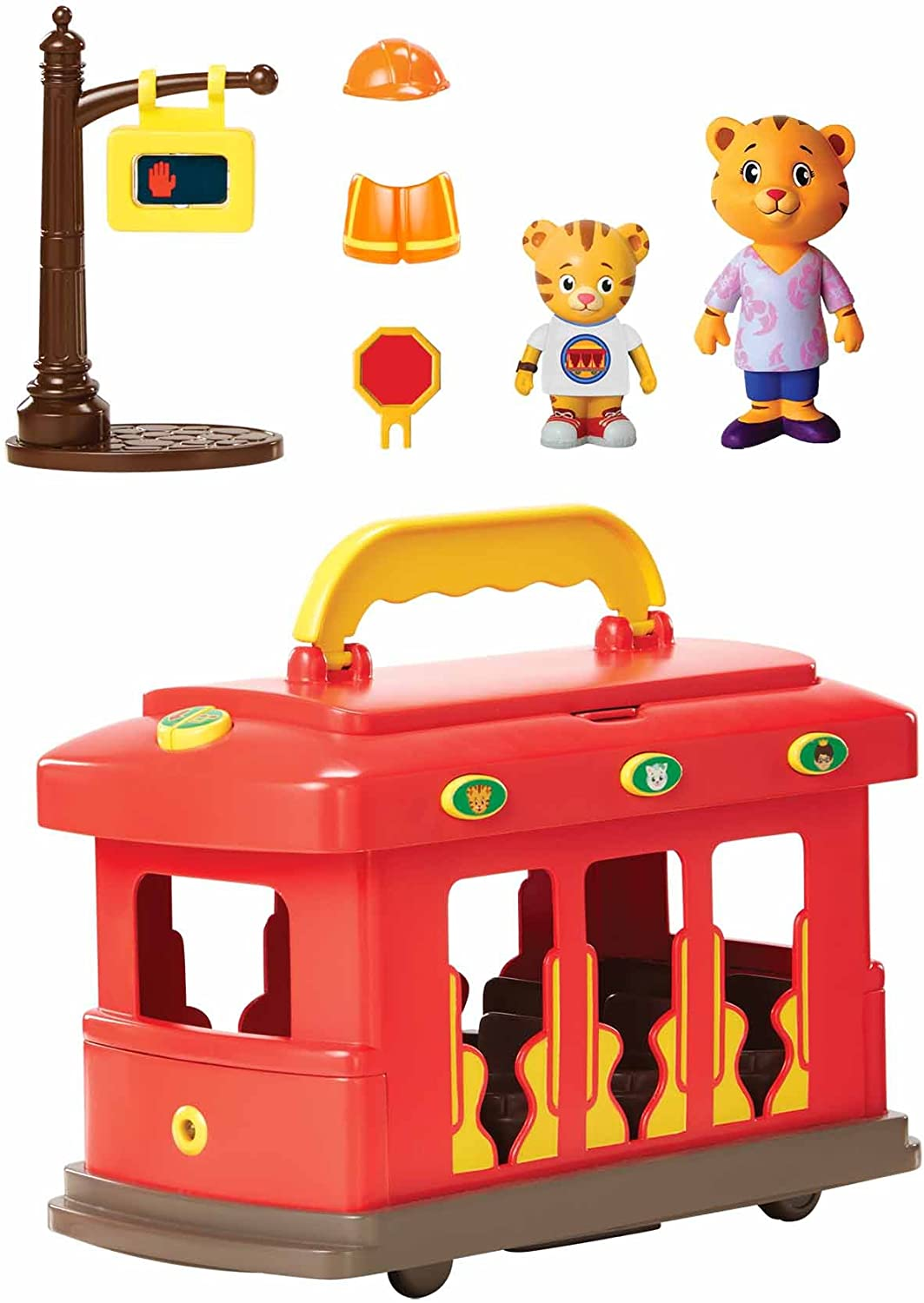 Daniel Tiger's Neighborhood Deluxe Electronic Trolley Vehicle