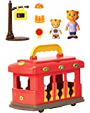 Daniel Tiger's Neighborhood Deluxe Electronic Trolley Vehicle with 2 Songs, 12 Phrases, Trolley Sounds & Light! Daniel…