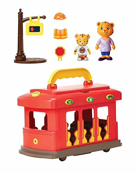 Image Unavailable. Image not available for. Color  Daniel Tiger s  Neighborhood-Deluxe Electronic Trolley Vehicle 8bc58124b