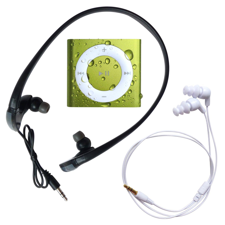 Underwater Audio Waterproof iPod Shuffle AND HydroHarmony Headphone Bundle