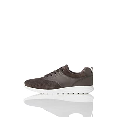 Brand - find. Men's Perforated Suede Hybrid: Shoes