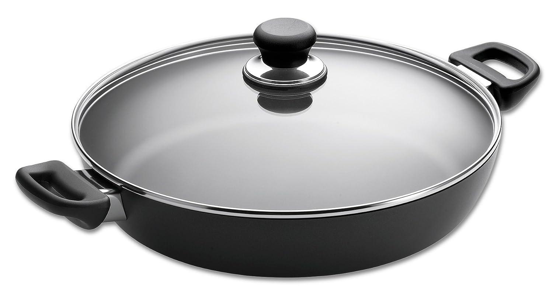 ScanPan Ceramic Titanium Classic Chef Pan with Lid, 32cm 32151200