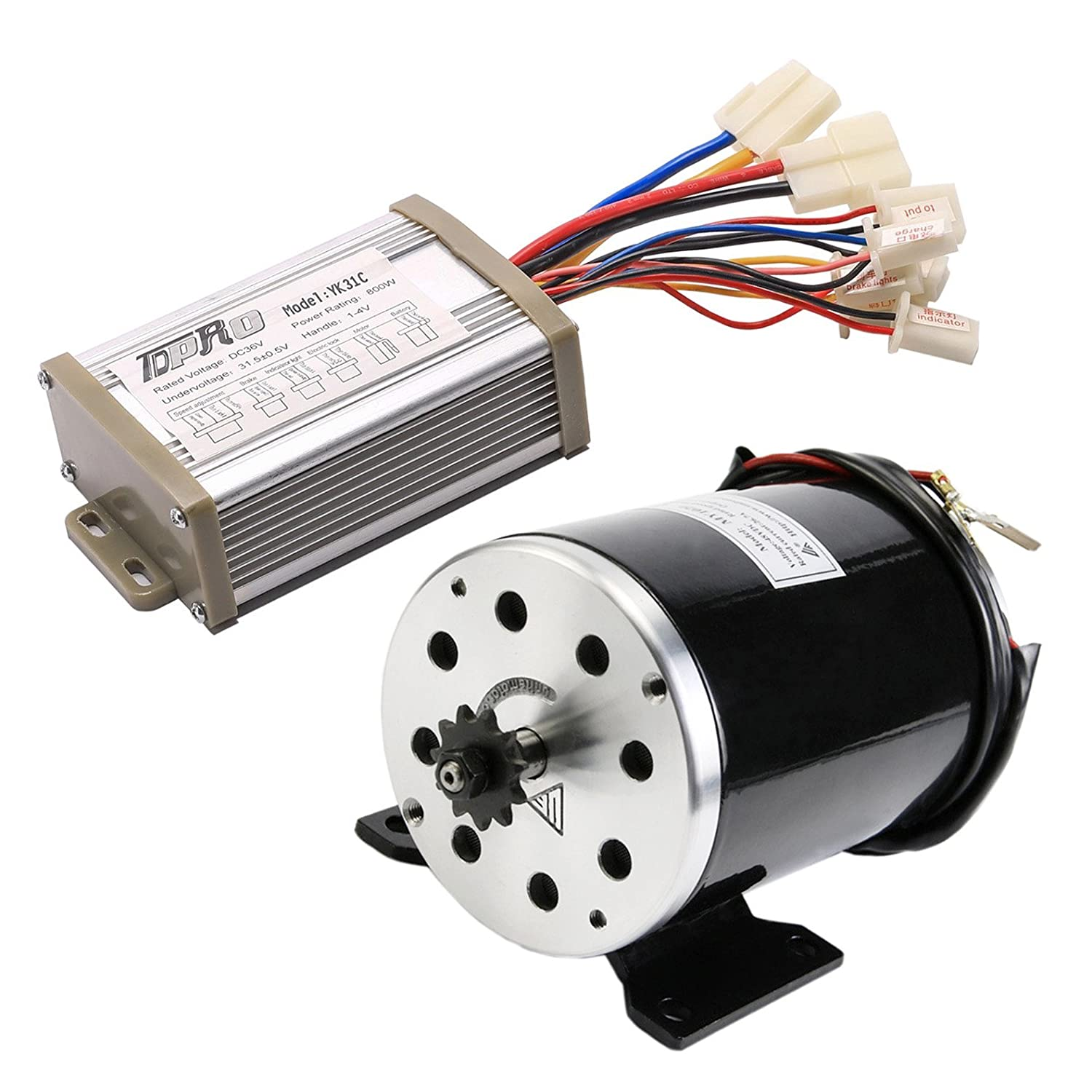 Tdpro Jcmoto 36v 800w Brushed Speed Motor Controller 48v Brushless Electric Bicycle Bldc From Reliable Set Scooter Go Kart E Bike Tricycle Moped Sports Outdoors