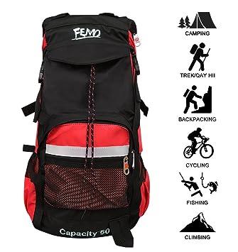 Kunpron 60L Mens Hiking Backpack Lightweight Water Resistant 565c1bee2d252