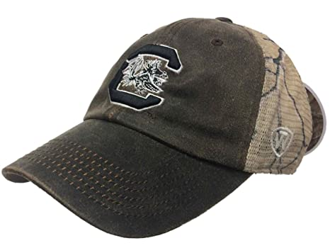 3df7a8a4f9c2a Image Unavailable. Image not available for. Color  South Carolina Gamecocks  Tow Brown Realtree Camo Mesh Adjustable Snap Hat Cap