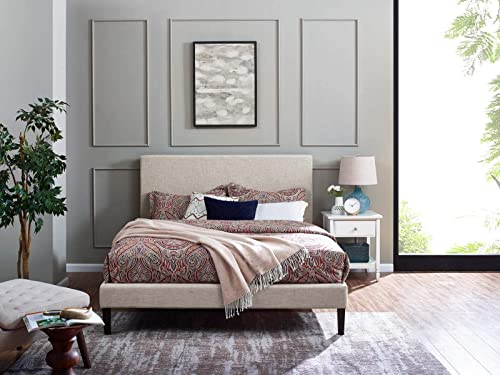 Modway Claire Linen Fabric Upholstered King and California King Headboard