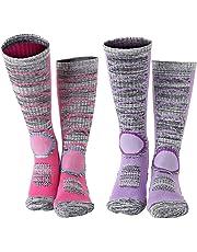 50eda9d91db Diealles Chaussettes de Ski Thermiques et Respirantes pour Femme Homme