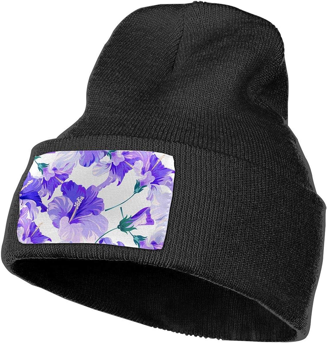 QZqDQ Beautiful Orchids Unisex Fashion Knitted Hat Luxury Hip-Hop Cap