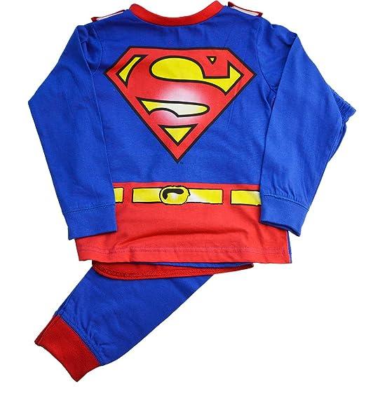 0895496a67 Superman - Pijama dos piezas - para niño multicolor Red   Blue