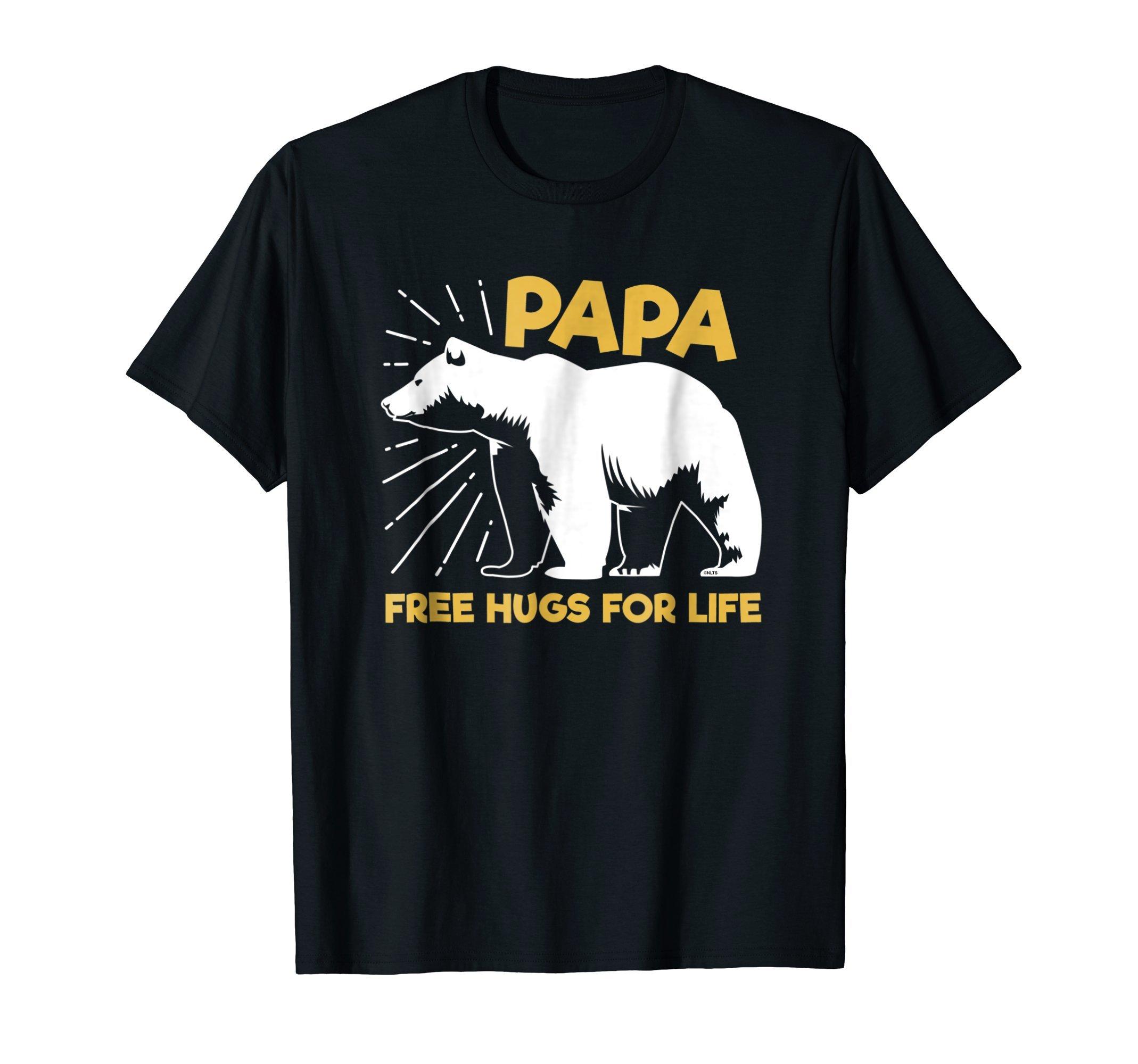 Papa-Bear-Free-Hugs-Dad-T-Shirt-Fathers-Day-Tee-Shirt-Gift