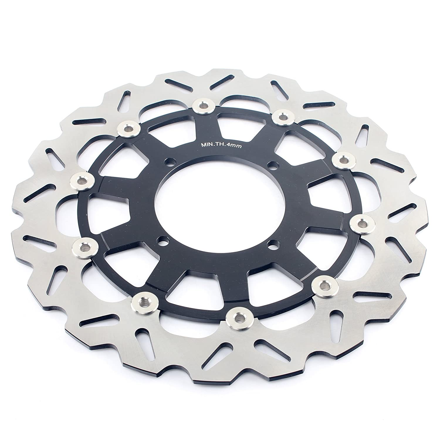 Tarazon 320mm Supermoto Brake Disc Rotor /& Bracket for Kawasaki KX500 KX125 KX250 KX250F KLX250R KLX300R KLX650R