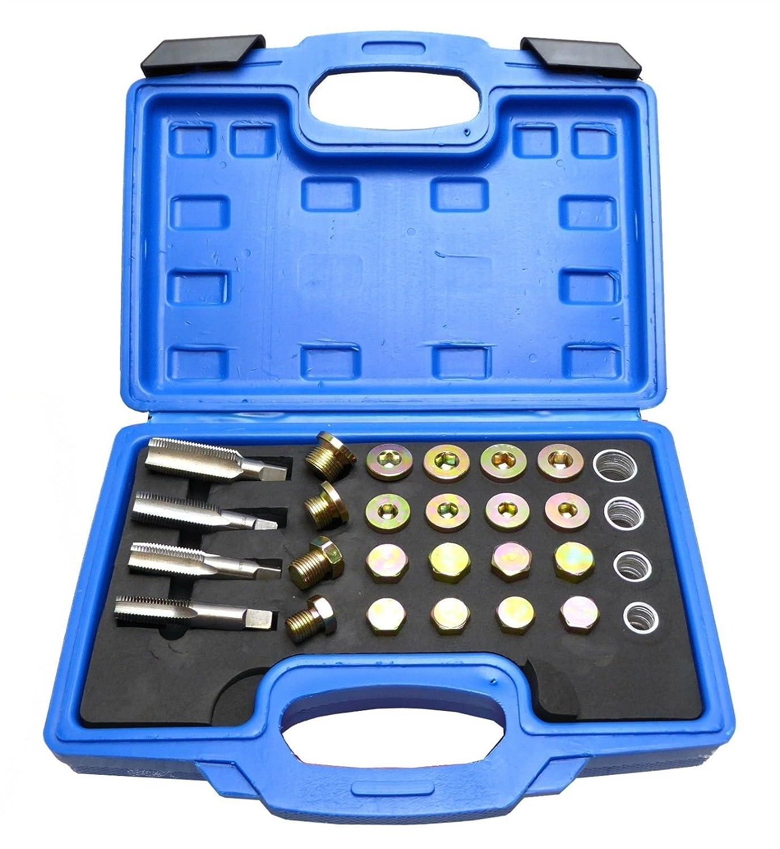 Mekanik 64 Oil Pan Thread Repair Kit Sump Gearbox Drain Plug