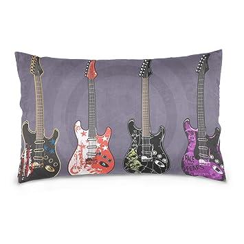 Amazon.com: Dragon Sword - Funda de almohada para guitarras ...